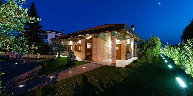 Architettura rubner haus casa blockhaus noci puglia for Case prefabbricate in puglia