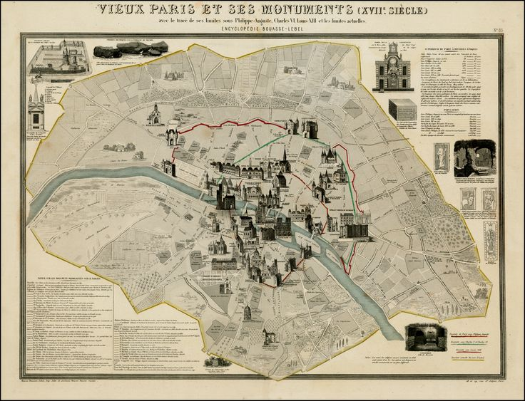 bastille monument map