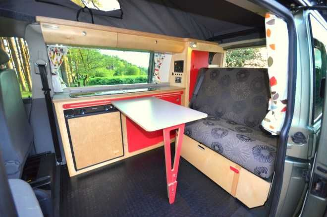 VW T5 Campervan for sale, New Cambee conversion interior £24,350