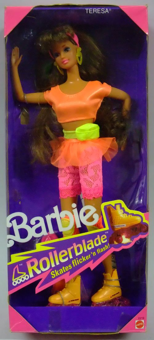 Rollerblades And Toys : One of my favorite barbies ever barbie doll teresa