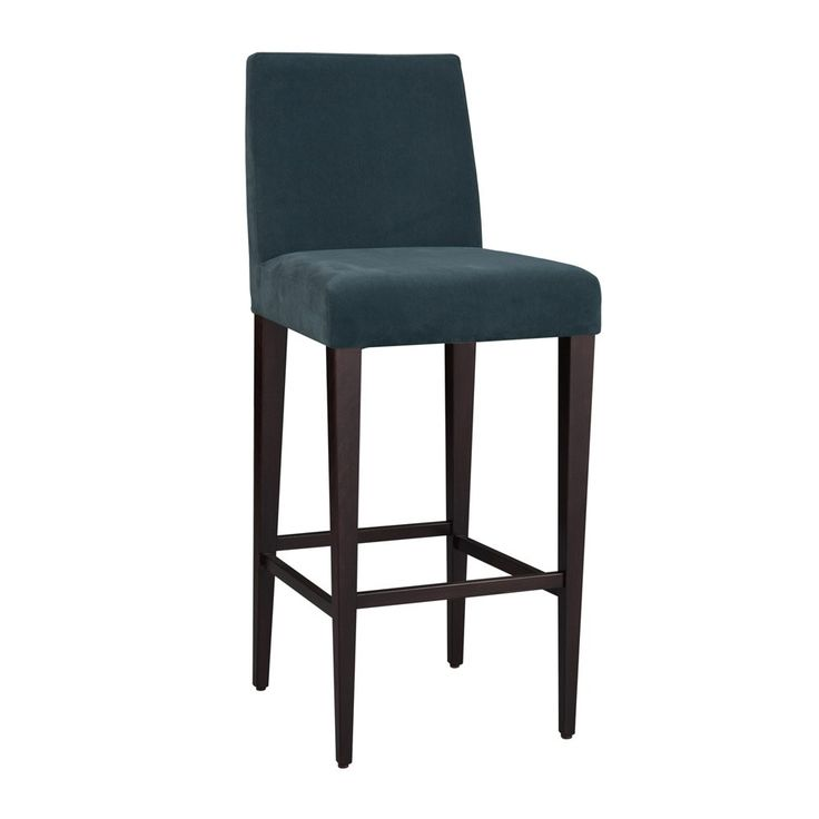 Hamilton conte uma velvet bar stool teal houseology ss16 luxe style pinterest teal - Teal blue bar stools ...