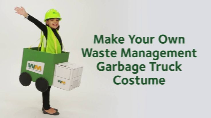 How to Create a Waste Management Garbage Truck Costume