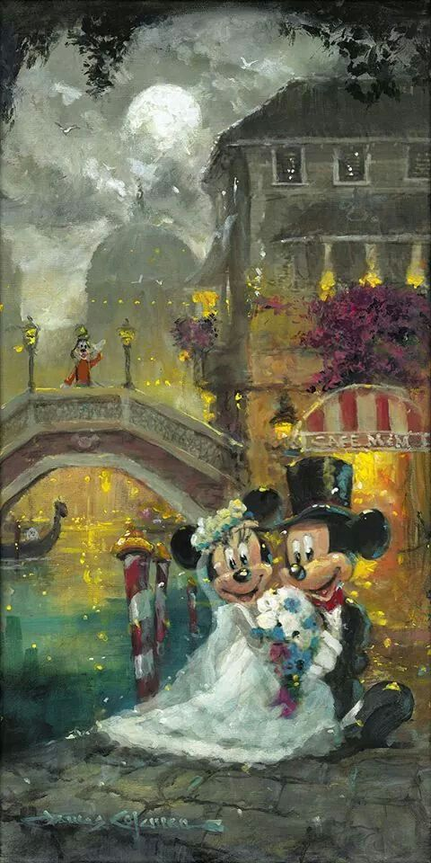 Mickey and Minnie wedding