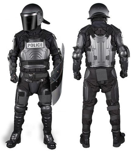 The #FX-1 FlexForce™ Modular Hard Shell Crowd Control System is the ultimate high-threat level riot control, domestic disturbance, and cell extraction suit. The FlexForce™ design provides substantial