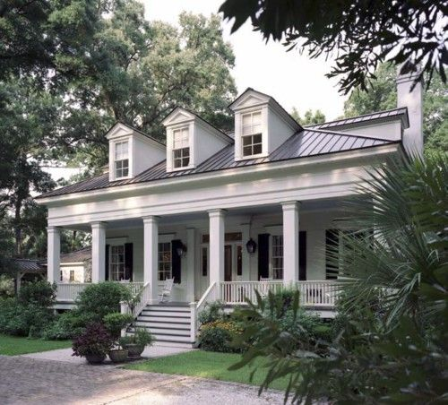 Porches Southern Plantations And Metal Roof On Pinterest
