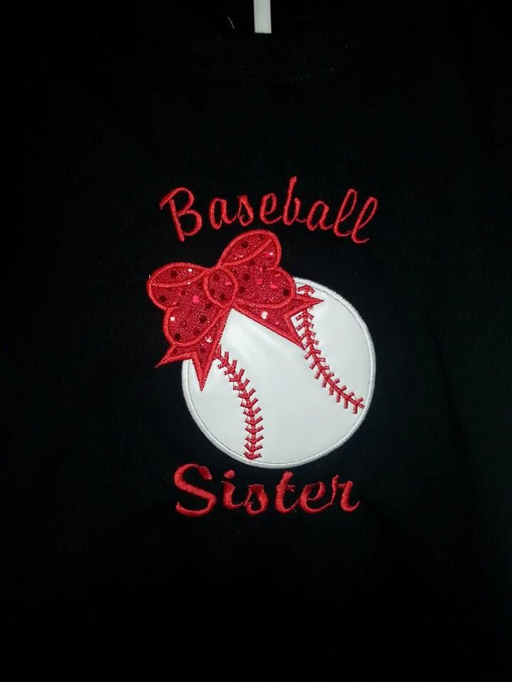 Baseball Sister Tshirt for Toddler 2T5/6 by 2SassyChicBoutique, $18.95