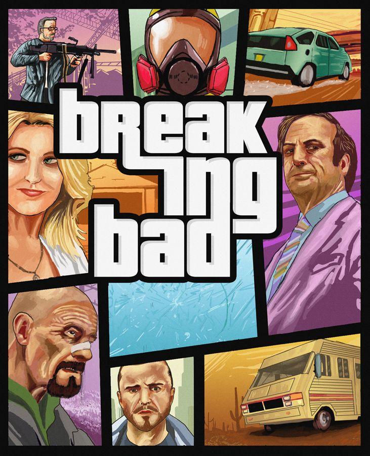 Breaking Bad: GTA by ~tosgos on deviantART
