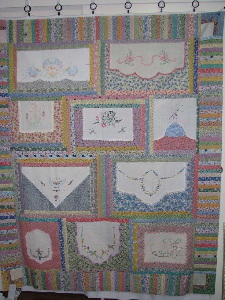 handbag review vintage linens quilt idea