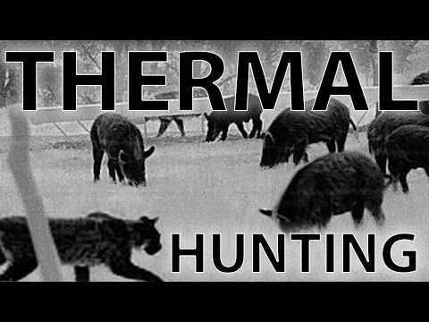 Compilation of the best videos night hunting with the REAP-IR Thermal sight including 48 hogs, ...