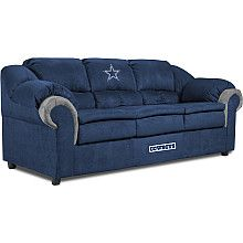Dallas Cowboy sofa for the basement? All kinds of Cowboy furniture (video game chairs recliners tray tables.  sc 1 st  Pinterest & 184 best Dallas Cowboys images on Pinterest | Cowboy baby Dallas ... islam-shia.org