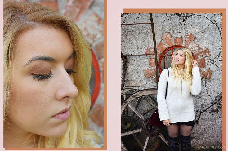 A/W Outfit: il maxi maglione come vestito!  Scopri come indossare un maxi maglione come se fosse un vestito!  #winter #inverno #milano #ootd #ootn #outfit #style #look #fashion #autunno #autumn #aw #chic #elegant #girly #rock #primark #cuissardes #black #nero #bianco #white #sweater #maglione #velluto #burgundy #calzearete #collant #bordeaux