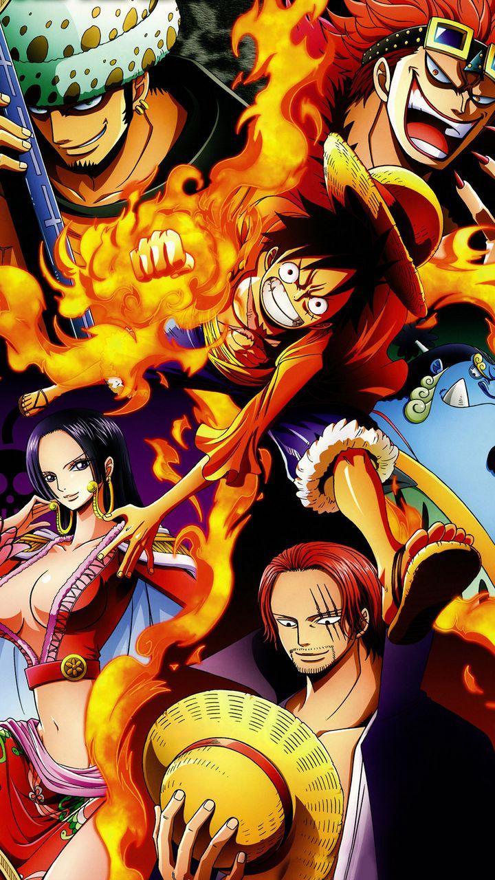 Download One Piece Wallpaper 720x1280 Gallery Аниме из