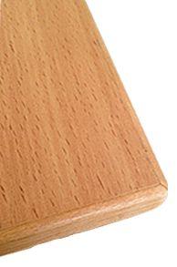 Деревянная торцовка. Неоспоримым достоинством деревянной торцовки является:  НАТУРАЛЬНОСТЬ — школьные парты в деревянной торцовке выполнены из экологически чистого дерева;  БЕЗОПАСНОСТЬ — школьная парта в деревянной торцовке безопасна, за счет сглаженных углов парты и аккуратной торцовки;  ДОЛОГОВЕЧНОСТЬ — школьные парты в деревянной торцовке всегда будут выглядеть как новые.