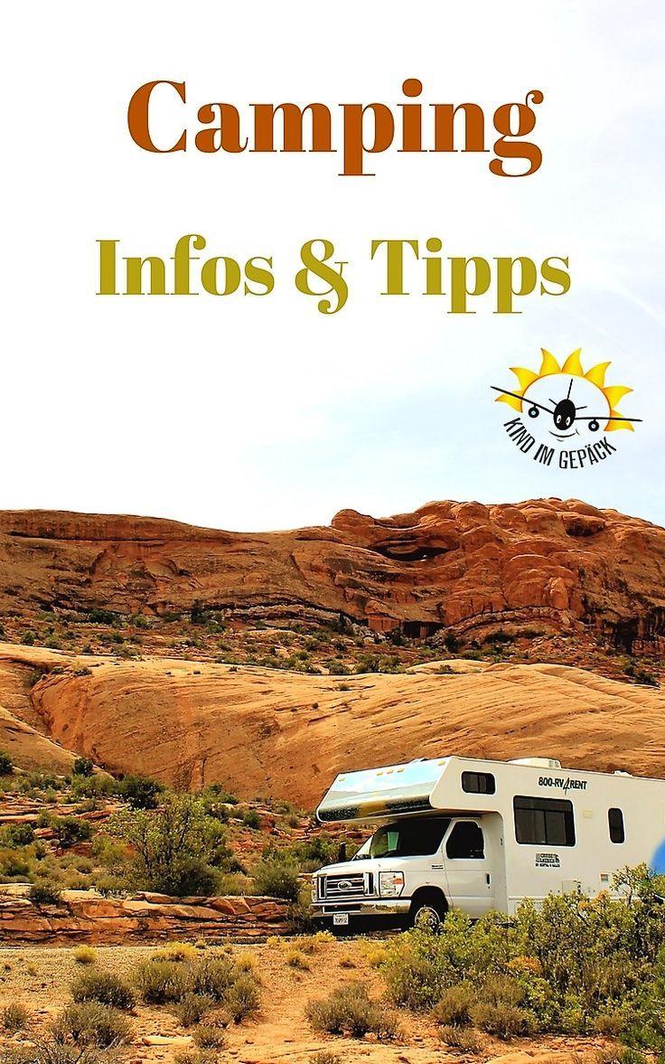 Informationen zum Thema Camping mit Wohnmobil & Zelt