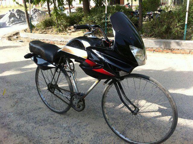 Funny Picture Latest Honda Bike