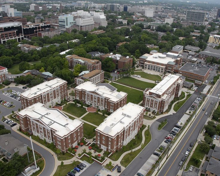 Vanderbilt University Campus | The Commons is Vanderbilt University's new living-learning community ...