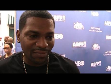 Mekhi Phifer (actor) on the Red Capert at the American Black Film Festival 2011. Phifer started in the films; 'Soul Food', 'O', '8 Mile', and 'Honey'. He also stars on the Starz show, 'Torchwood'.