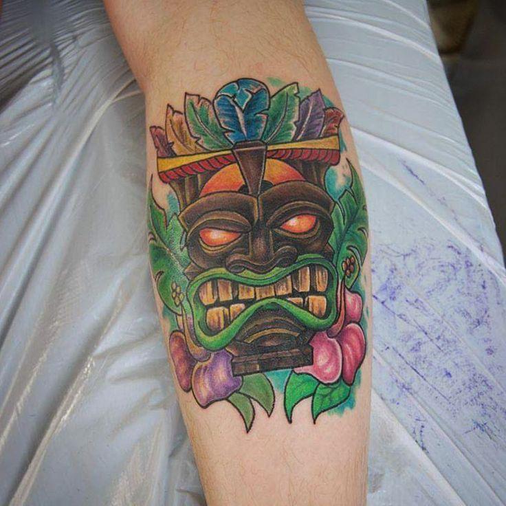 Nice Tiki tattoo