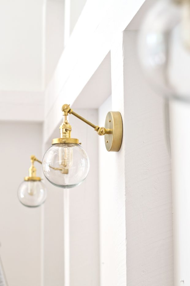 Diy Bathroom Sconces best 20+ brass sconce ideas on pinterest | bathroom sconces, brass