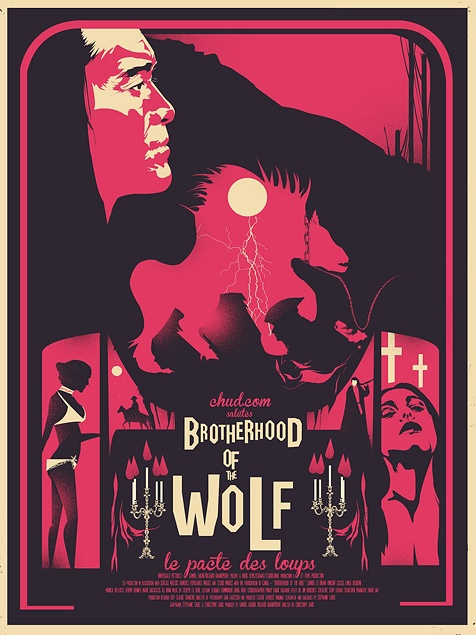 Brotherhood of the Wolf (Le pacte des loups) | Fro Design Co