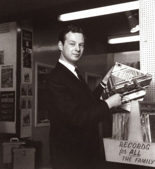 vinylespassion:  The 5th Beatles Brian Epstein