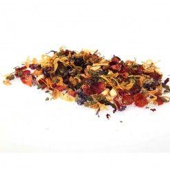 loose leaf herbal tea BE YOUNG taste3tea.com