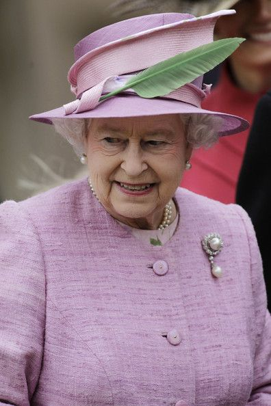 Queen Elizabeth II Photos Photos: The Royal Family Attend The Easter Mattins Service At Windsor Castle