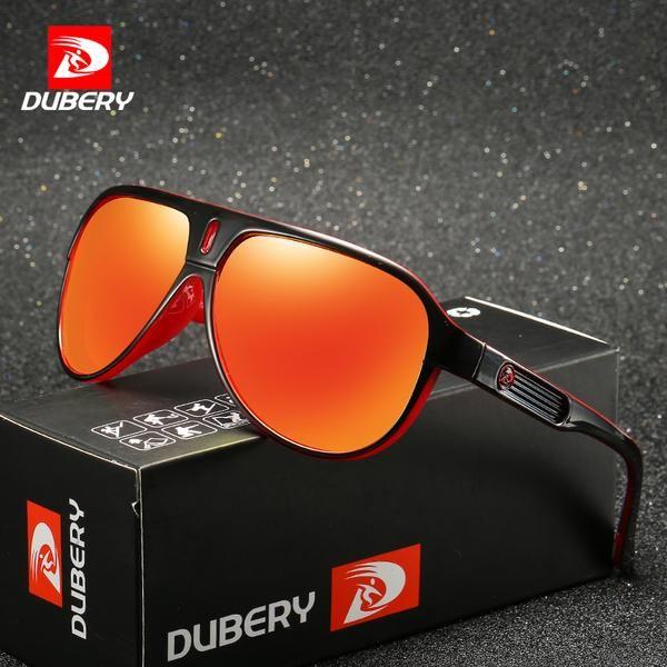 46bd0e4405 Dubery 163 Polarized Sunglasses Men Driving Men Mirror Goggle Uv400 ...