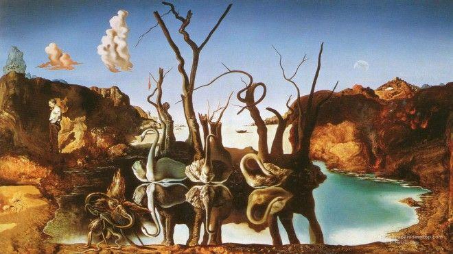 25 Slavný Salvador Dali Obrazy - Surreal a optické iluze Obrazy