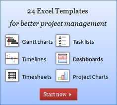 excel project management templates free