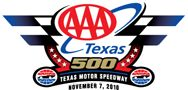 AAA Texas 500 is a Monster Energy NASCAR Cup Series stock car race held at the Texas Motor Speedway in Fort Worth, Texas. The inaugural race took place on November 6, 2005. The race has always started in the late afternoon, gone through sunset and twilight, and ended under the lights at night, much like the Coca Cola 600 in May, but it is not considered a night event.