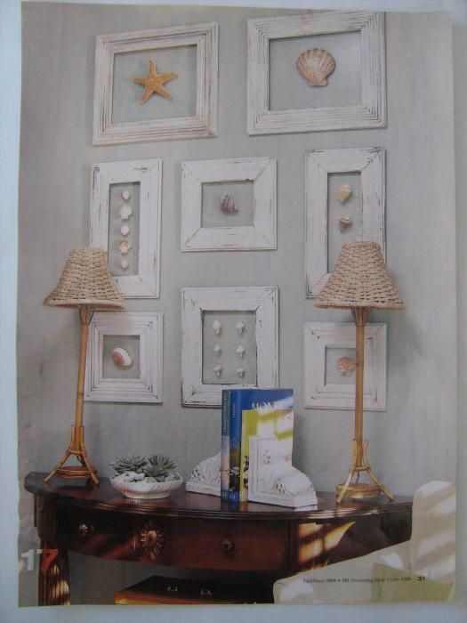 Easy and Inexpensive Shell Art