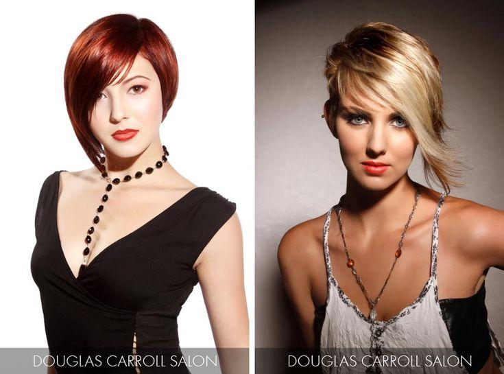 Účesy pro krátké vlasy jaro/léto 2015 – trendy 2015 milují výraznou asymetrii.