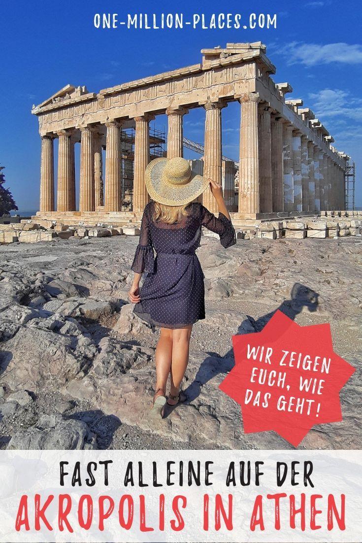 Die Akropolis – das Wahrzeichen von Athen (Griechenland) – One Million Places – Travel Blog
