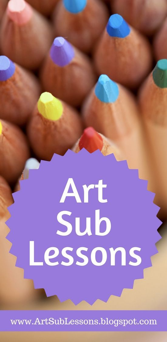 This is a great resource for art sub plans and emergency lessons for art teachers.  There are hundreds of ideas, links and lessons that your students will enjoy and your subs will thank you for.