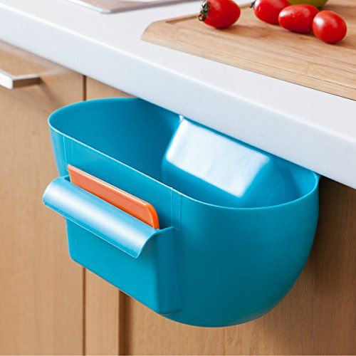 Hiware Kitchen Small Trash Cans, Garbage Bins, Hanging Garbage Can, Storage Cabinets, Cabinet Waste Bin, Bathroom Trash Can, Cabinet Trash Cans (Blue) Hiware http://www.amazon.com/dp/B00ZR4I8D0/ref=cm_sw_r_pi_dp_4yUTwb16EYJ13