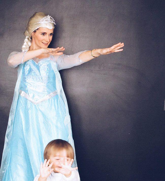 Disfraz de Elsa de Frozen talla adulto | Blog www.micasaencualquierparte.com