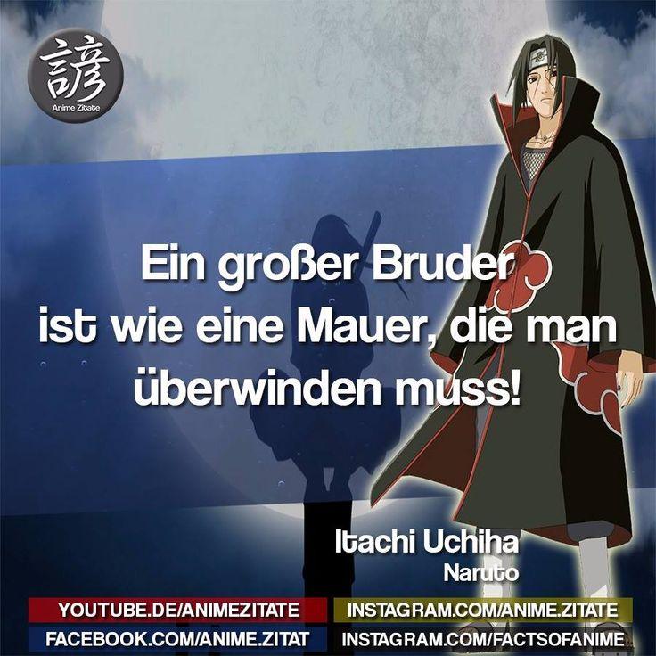 #ItachiUchiha #Naruto #AnimeZitate | Anime zitate, Zitate ...