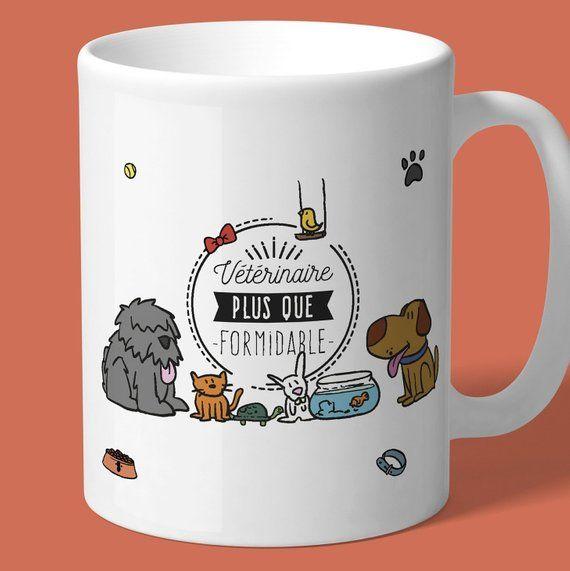 Fantastique Les plus beaux mugs personnalisable pour nos vétérinaires. | Etsy WO-02