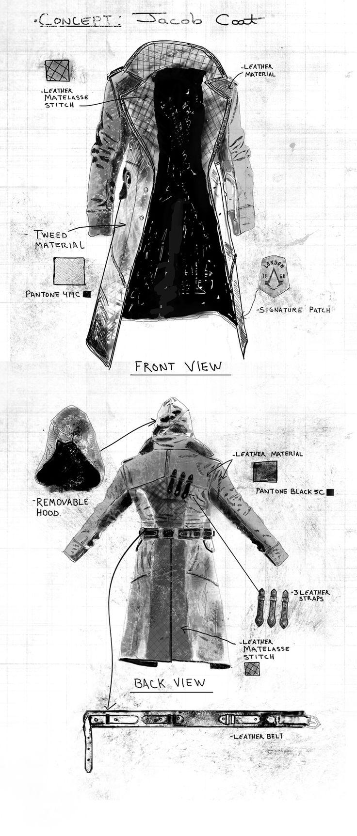 Assassinscreedsyndicate Jacob Coat Fantasy Weapons And