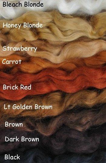 Super Soft Premium Angora Mohair for Reborn Doll Hair Supplies on Etsy, $13.99