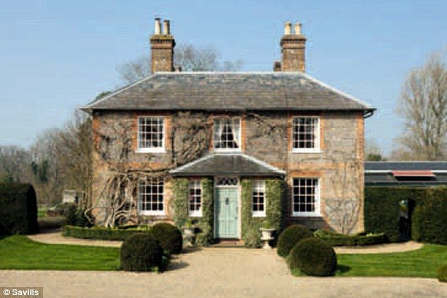 The property - just a few miles away from the Middleton's present home - also boasts appropriate Royal connections, with its land originally bestowed on the monks of Reading Abbey by King Henry I
