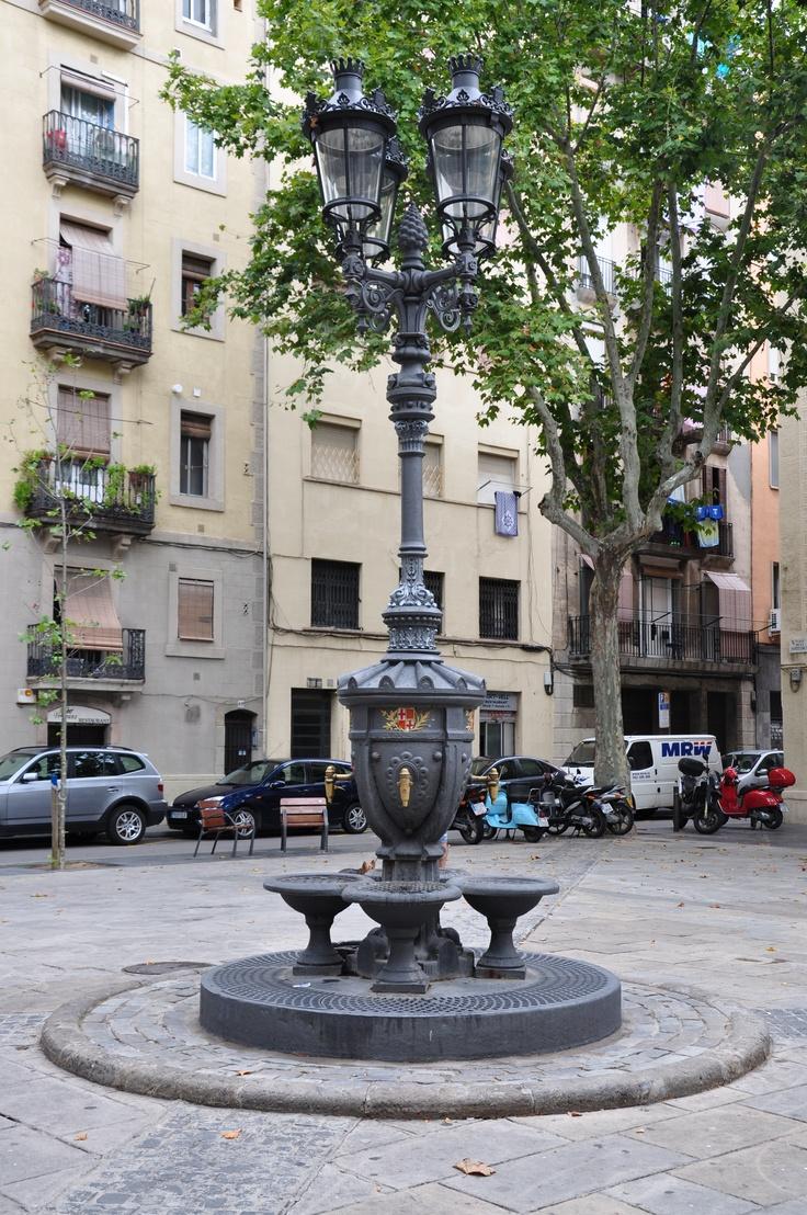 Fuente en la plaça