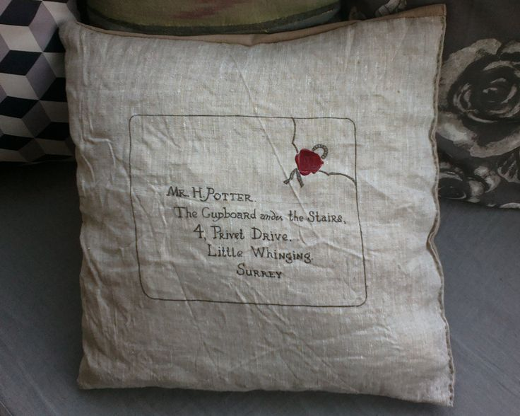подушка гарри поттер