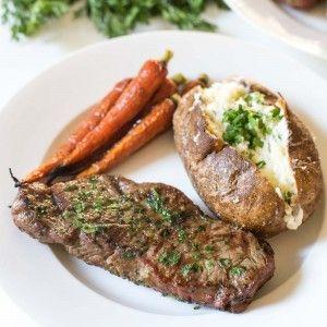 NY Steak with Cilantro Onion Dredge Recipe   Yummly