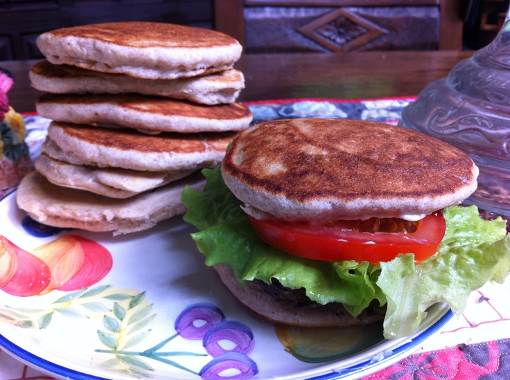 Re-think your buns! When making buckwheat pancakes , after adding ...
