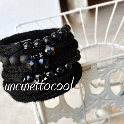 bracciale, nero