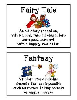 Reading Genre Posters - Freebie on TPT :o)