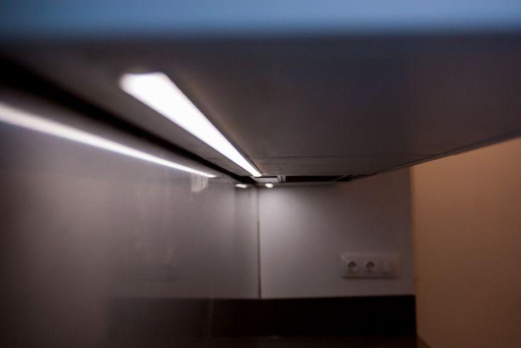 Iluminación #Led en #cocina. #Granollers #reformas #interiorismo #vivienda