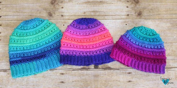 Criss Cross Beanie – Free Crochet Pattern